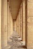 Colonnade van Geboorte in Deir Gr-Bahri Stock Fotografie