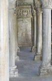 Colonnade van het klooster Stock Afbeeldingen