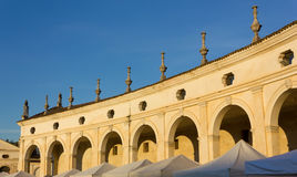 Colonnade of Villa Manin Royalty Free Stock Photos