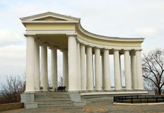 Colonnade at Vorontsov Palace in Odessa Royalty Free Stock Images