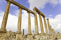 Colonnaded street Royalty Free Stock Images