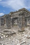 colonnadefyrkant Arkivbild