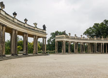 Colonnades in Sanssouci, Potsdam,Germany Royalty Free Stock Image