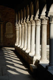 Colonnades in the Sun Royalty Free Stock Photography