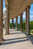 Colonnati del palazzo di Sanssouci Fotografia Stock Libera da Diritti