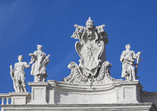 Colonnato Сан Pietro Стоковая Фотография RF