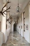 Colonnato alla residenza di Monaco di Baviera fotografia stock libera da diritti