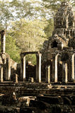Colonnato, Ankor Wat Immagini Stock