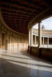 Colonnato del palazzo di Carlos V Immagine Stock Libera da Diritti