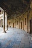 Colonnato del palazzo di Carlos V Immagini Stock