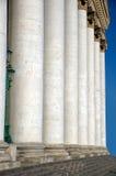 Colonnato del teatro di Bolshoi Fotografie Stock
