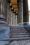 Colonnato della cattedrale di Kazan Fotografia Stock Libera da Diritti