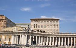 Colonnato della cattedrale di St.Pier Immagini Stock