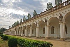 Colonnato di Kromeriz Immagine Stock