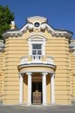 Colonnato e balcone Immagine Stock Libera da Diritti