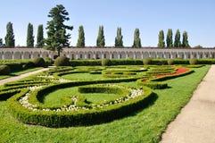 Colonnato nel giardino di fiore di Kromeriz Fotografie Stock
