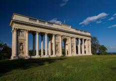 Colonnato Reistna, Mikulov, l'Unesco Fotografia Stock
