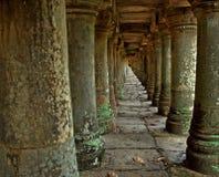 Colonne antiche Angkor Fotografia Stock Libera da Diritti