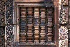 Colonne antiche del tempiale Fotografia Stock