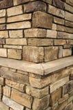 Colonne de brique Images stock