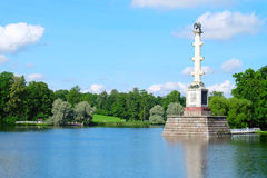 Colonne de Chesme, Russie Photos libres de droits