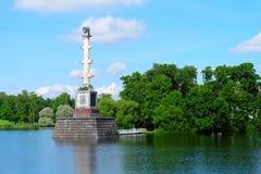 Colonne de Chesme, Russie Photographie stock