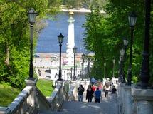 Colonne de droite de Magdebourg kiev Photo stock