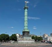巴黎- Colonne de Juillet 库存照片