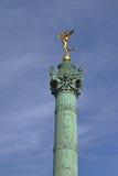 Colonne de juillet - Place de la Bastille - Paris - France Image stock