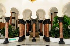 Colonne de mosquée d'Ubudiah chez Kuala Kangsar, Perak Images stock