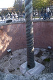 Colonne de serpent à Istanbul Photos libres de droits