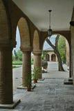 Colonne del castello di Mogosoaia Immagine Stock