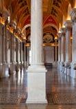 Colonne del congresso delle biblioteche in Washington DC Fotografia Stock Libera da Diritti