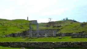 Colonne del Pantikapaeum stock footage
