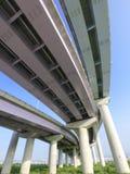 Colonne del viadotto Immagine Stock