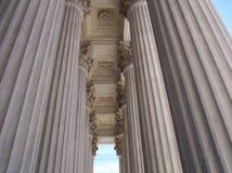 Colonne della legge Fotografie Stock Libere da Diritti