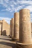 Colonne di Antient Egitto Immagine Stock