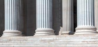 Colonne di marmo classiche Fotografia Stock