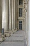 Colonne di ordine e di legge nella Corte suprema Fotografie Stock