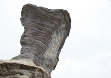 Colonne di pietra naturali Fotografie Stock Libere da Diritti