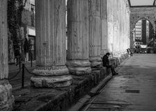 Colonne Di San Lorenzo - Milaan Royalty-vrije Stock Foto's