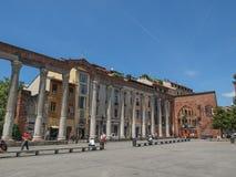 Colonne Di San Lorenzo Milan stock afbeelding