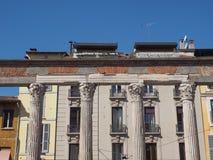 Colonne Di San Lorenzo Milan royalty-vrije stock foto's