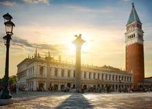 Colonne di San Marco Immagini Stock