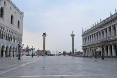 Colonne di San Marco e San Todaro, Royalty Free Stock Image