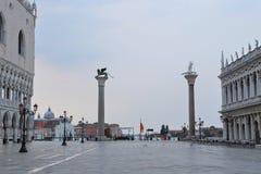 Colonne di San Marco e San Todaro, Royalty Free Stock Images