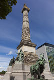 Colonne du Congres, Brussels. Belgium, Europe royalty free stock photography