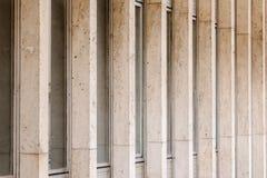 colonne lunghe Fotografie Stock Libere da Diritti