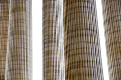 Colonne o colonne Fotografia Stock