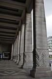 Colonne quadrate della colonna Fotografia Stock